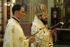 Sfintirea iconostasului 2009